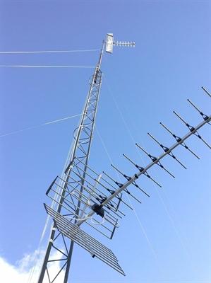 Torreta de antena TDT