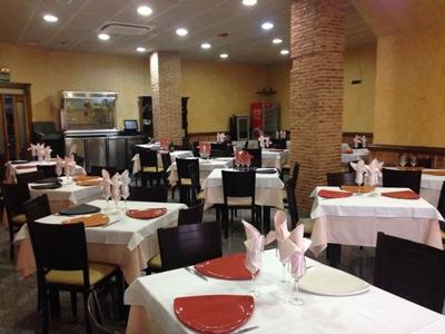 Restaurante Fuenlabrada Casa Pepe salon comidas