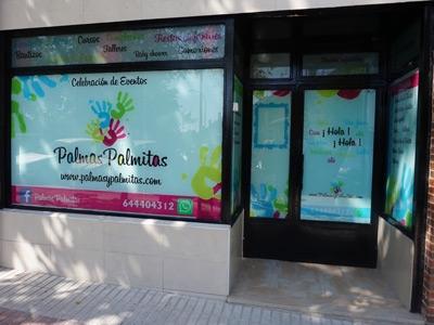 Local cumpleaños Palmas Palmitas Fuenlabrada