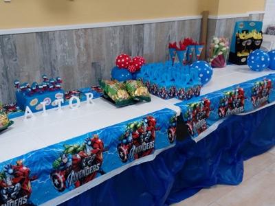 Decoracion Cumpleaños Superheroes Avengers Local Palmas Palmitas Fuenlabrada