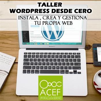 Imagen de la categoría Taller gratuito WordPress desde Cero
